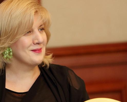 Dunja Mijatovic 2013. június 13-án